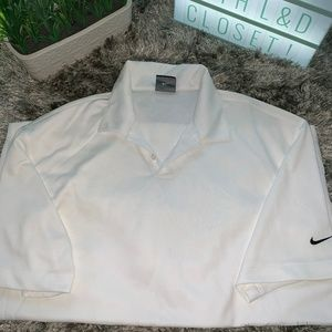 Men's Nike dri-fit polo shirt